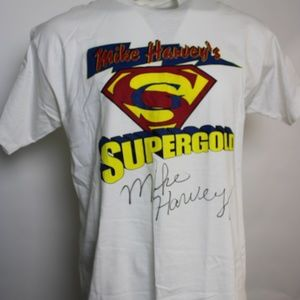 Mike Harvey's SuperGold Autographed Graphic Tee XL